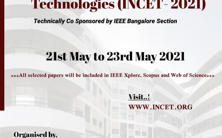 IEEE 2nd International Conference at JCE.